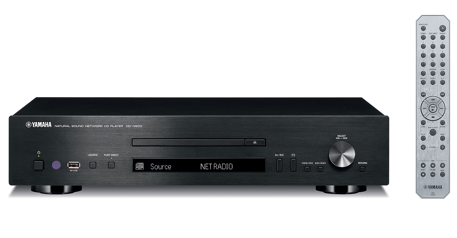 CD-проигрыватель Yamaha CRX-N470 Black