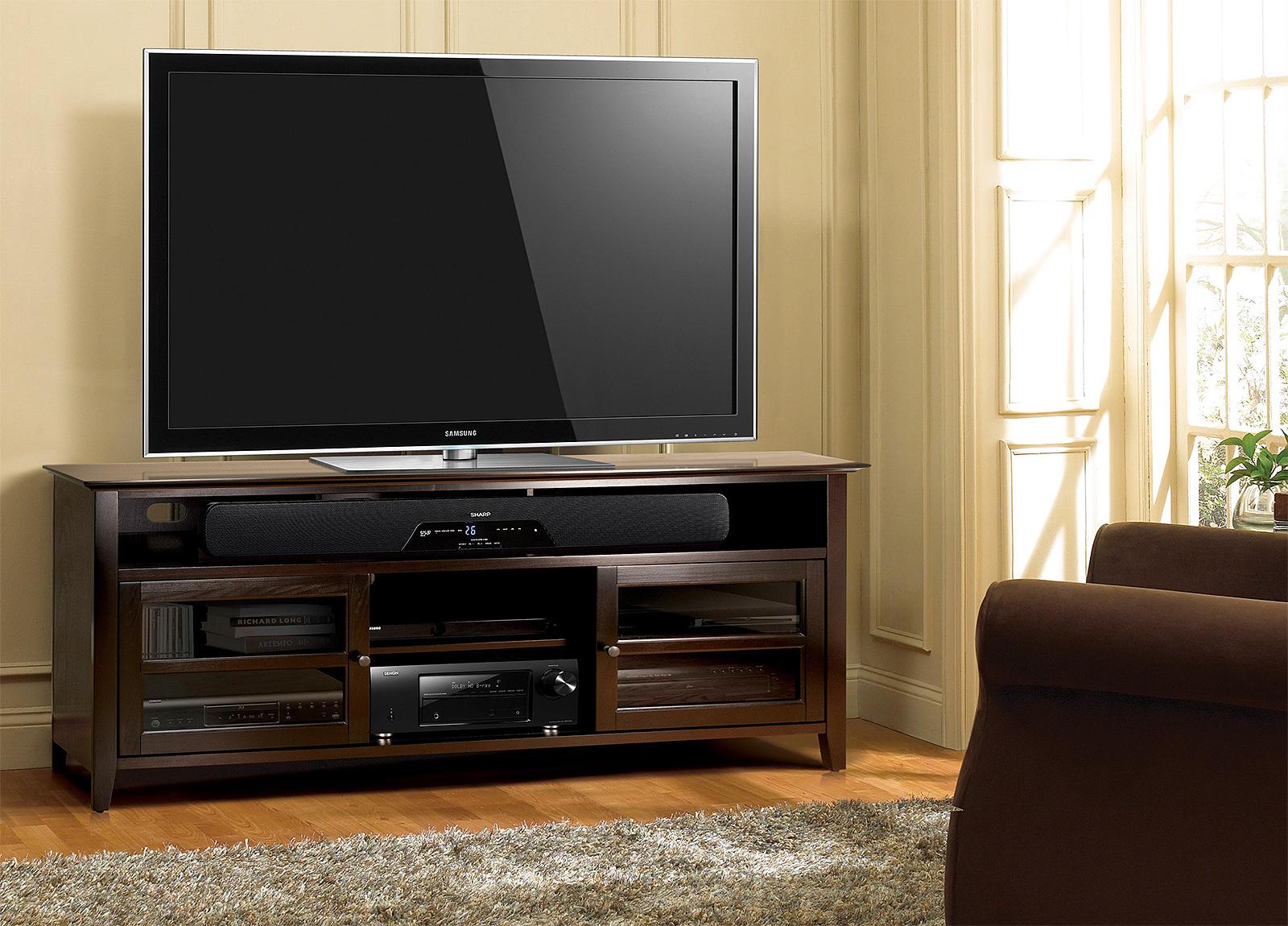 Тумба под телевизор с аппаратурой своими руками