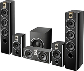 Focal Chorus 726 HT Set Black