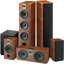 Focal Chorus 726 HT Set Walnut