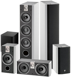 Focal Chorus 726 HT Set White