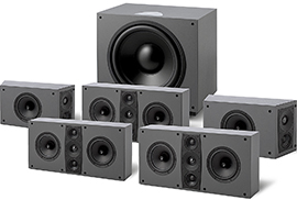 Jamo D 600 Home Cinema Systems