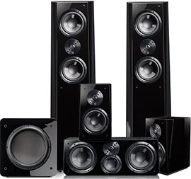 SVS Ultra Tower Surround Package