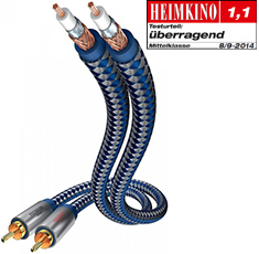 inakustik Premium Audio Cable RCA 0.75 м.